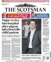The Scotsman (UK) Newspaper Front Page for 23 January 2019