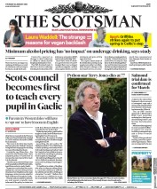 The Scotsman () Newspaper Front Page for 23 January 2020