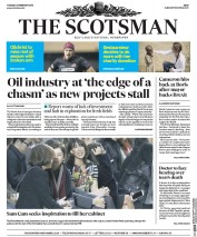 The Scotsman (UK) Newspaper Front Page for 23 February 2016