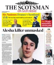 The Scotsman () Newspaper Front Page for 23 February 2019