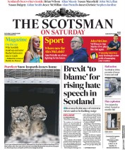 The Scotsman (UK) Newspaper Front Page for 23 March 2019