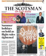 The Scotsman front page for 23 May 2020