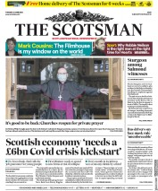 The Scotsman front page for 23 June 2020