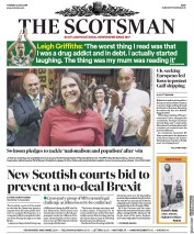 The Scotsman (UK) Newspaper Front Page for 23 July 2019