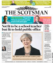 The Scotsman (UK) Newspaper Front Page for 23 September 2017