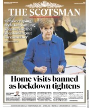 The Scotsman front page for 23 September 2020