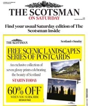 The Scotsman front page for 24 October 2020