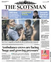 The Scotsman (UK) Newspaper Front Page for 24 December 2018