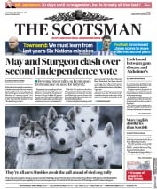 The Scotsman (UK) Newspaper Front Page for 24 January 2019