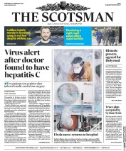 The Scotsman (UK) Newspaper Front Page for 24 February 2016