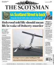 The Scotsman (UK) Newspaper Front Page for 24 February 2017