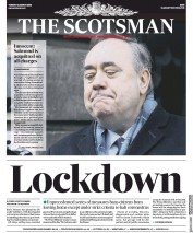 The Scotsman (UK) Newspaper Front Page for 24 March 2020