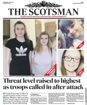 The Scotsman (UK) Newspaper Front Page for 24 May 2017