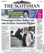 The Scotsman (UK) Newspaper Front Page for 24 June 2017
