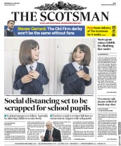 The Scotsman front page for 24 June 2020