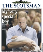The Scotsman (UK) Newspaper Front Page for 24 July 2013