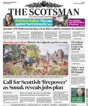 The Scotsman front page for 24 September 2020