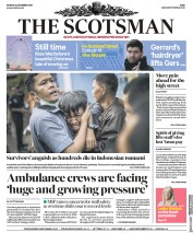 The Scotsman (UK) Newspaper Front Page for 25 December 2018