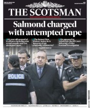 The Scotsman (UK) Newspaper Front Page for 25 January 2019