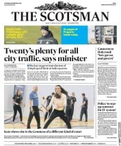 The Scotsman (UK) Newspaper Front Page for 25 February 2016