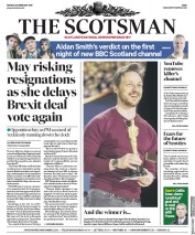 The Scotsman () Newspaper Front Page for 25 February 2019