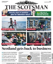The Scotsman front page for 25 June 2020