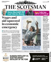 The Scotsman front page for 26 November 2020