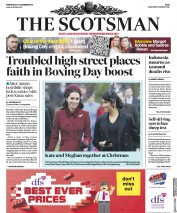 The Scotsman (UK) Newspaper Front Page for 26 December 2018