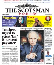 The Scotsman (UK) Newspaper Front Page for 26 January 2019