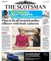 The Scotsman (UK) Newspaper Front Page for 26 April 2017
