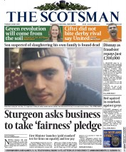 The Scotsman (UK) Newspaper Front Page for 26 May 2015