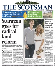 The Scotsman (UK) Newspaper Front Page for 27 November 2014