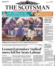 The Scotsman (UK) Newspaper Front Page for 27 November 2017