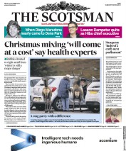 The Scotsman front page for 27 November 2020