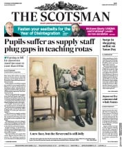 The Scotsman (UK) Newspaper Front Page for 27 December 2018