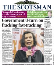 The Scotsman (UK) Newspaper Front Page for 27 January 2015