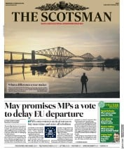 The Scotsman () Newspaper Front Page for 27 February 2019