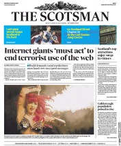 The Scotsman (UK) Newspaper Front Page for 27 March 2017