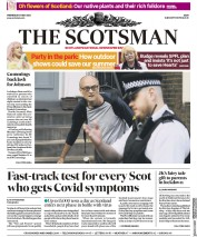 The Scotsman (UK) Newspaper Front Page for 27 May 2020