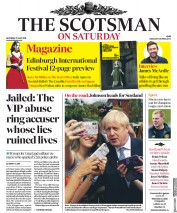 The Scotsman (UK) Newspaper Front Page for 27 July 2019