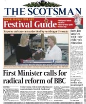 The Scotsman (UK) Newspaper Front Page for 27 August 2015