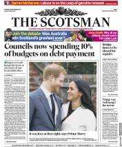 The Scotsman (UK) Newspaper Front Page for 28 November 2017
