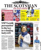 The Scotsman (UK) Newspaper Front Page for 28 December 2019