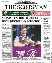 The Scotsman (UK) Newspaper Front Page for 28 January 2019