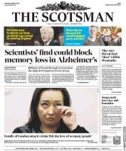 The Scotsman (UK) Newspaper Front Page for 28 March 2017