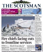 The Scotsman (UK) Newspaper Front Page for 28 April 2015