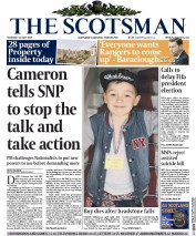 The Scotsman (UK) Newspaper Front Page for 28 May 2015