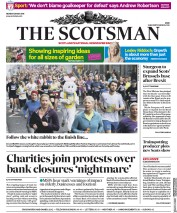 The Scotsman (UK) Newspaper Front Page for 28 May 2018