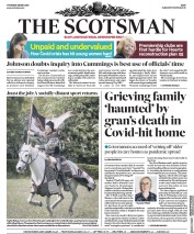 The Scotsman (UK) Newspaper Front Page for 28 May 2020