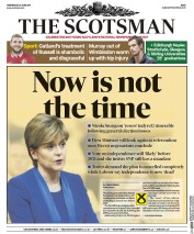 The Scotsman (UK) Newspaper Front Page for 28 June 2017
